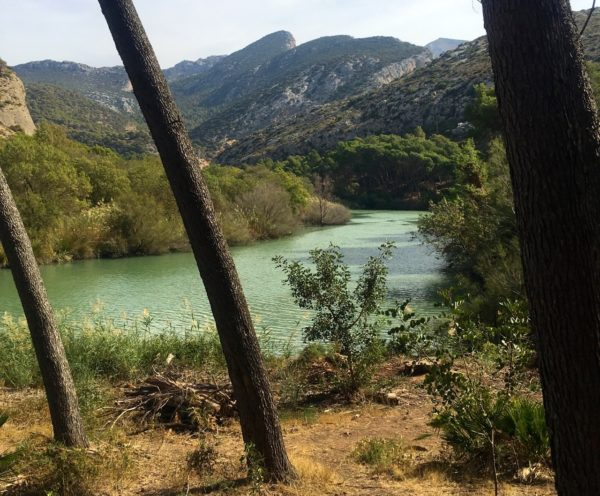 A Walk Through The Woods Beside The  Embalse De  Gaitanejo Brings You To The Start Of The Dramatic  Caminito Del  Rey