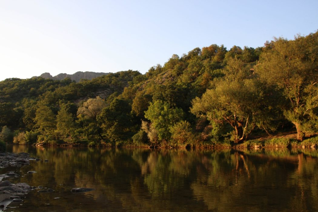 The  Arda  River  Before  Madzharovo In  Bulgaria