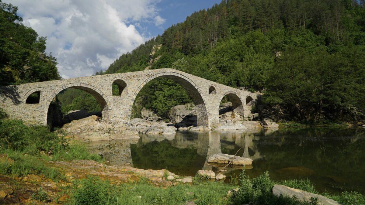 The Famous  Devils Bridge