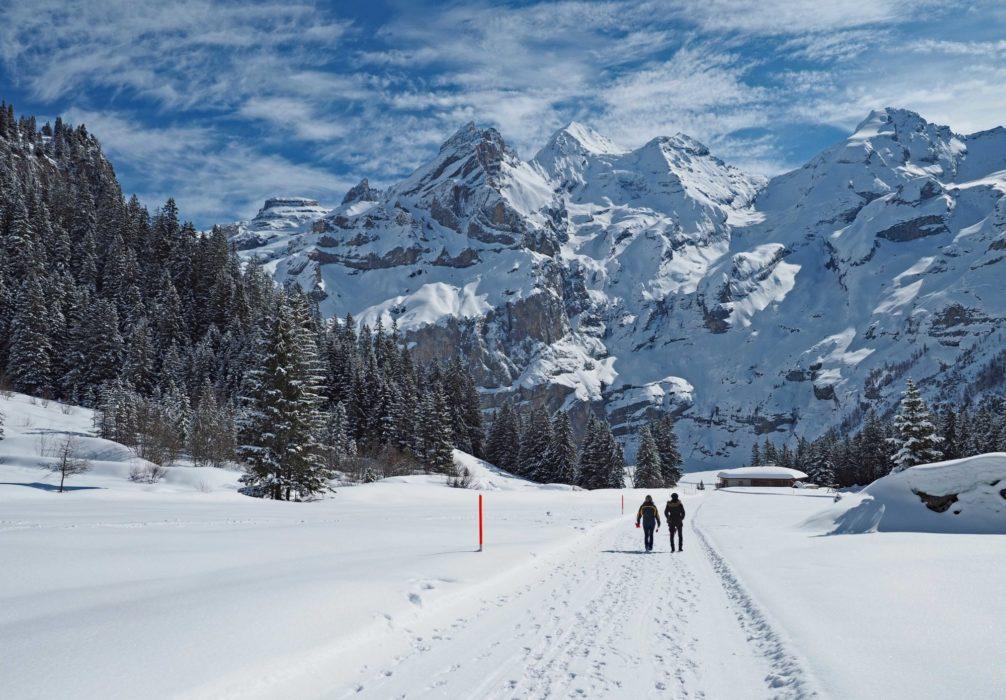 Blueemlisalp In  Switzerlands  Bernese  Oberland