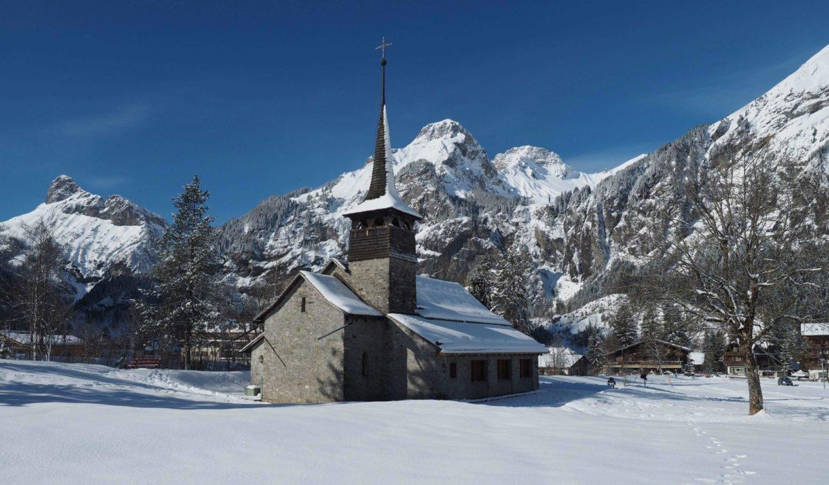 Church In  Kandersteg