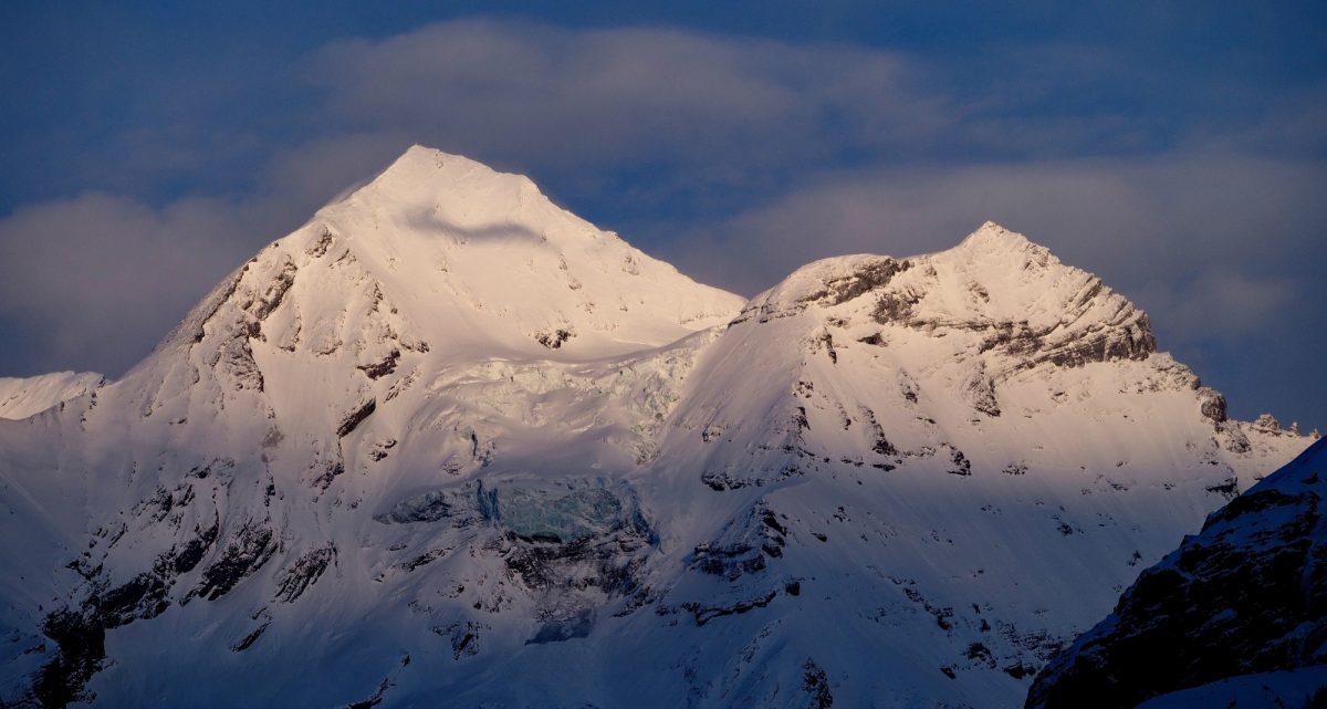 Blueemlisalphorn In The  Swiss  Alps