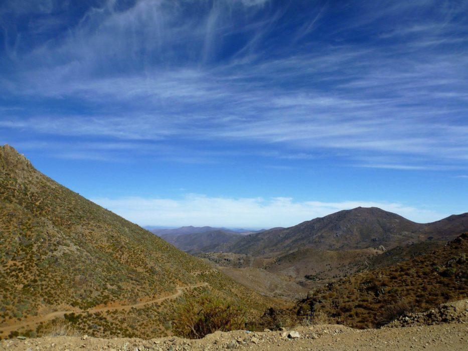 Cycling Through  Chiles Mining Region