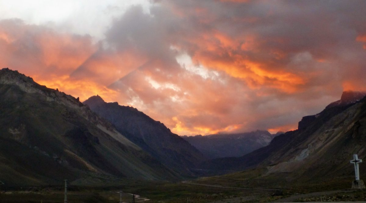 Sunset By  Aconcagua