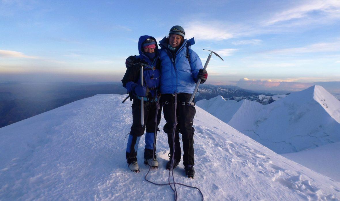 Top Of  Illamani  Bolivia 6400M