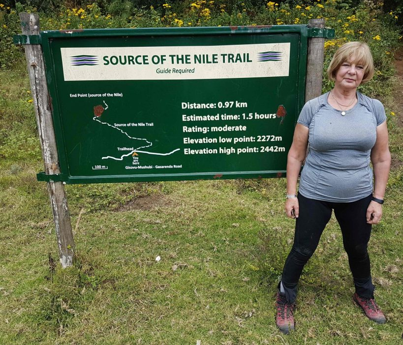Trailhead Sign For  Source Of The  Nile  Trail
