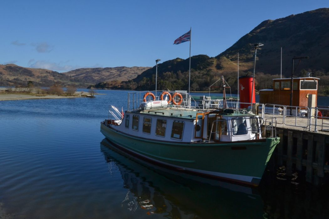 Taking The Boat From  Patterdale