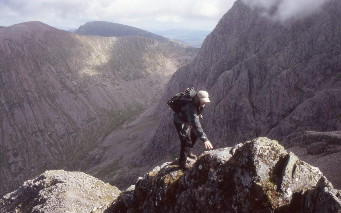 Ledge  Route  Ben  Nevis