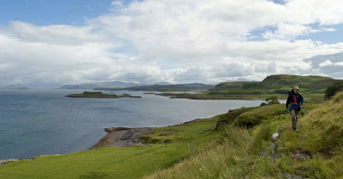 Slatrach  Bay And  Kerrera