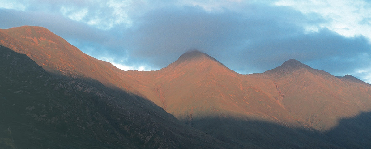 Walking The  Munros In  Scotland