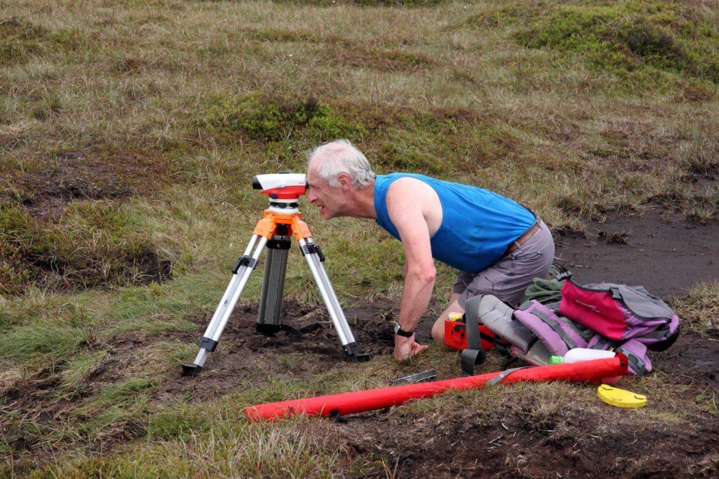 John  Barnard Surveying On  Kinder