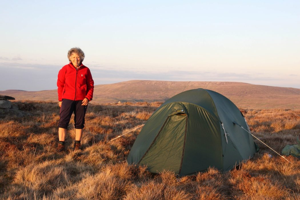 Camping On Top Of  Birks  Fell