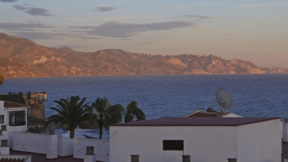 Sunset View From  Nerja Cover