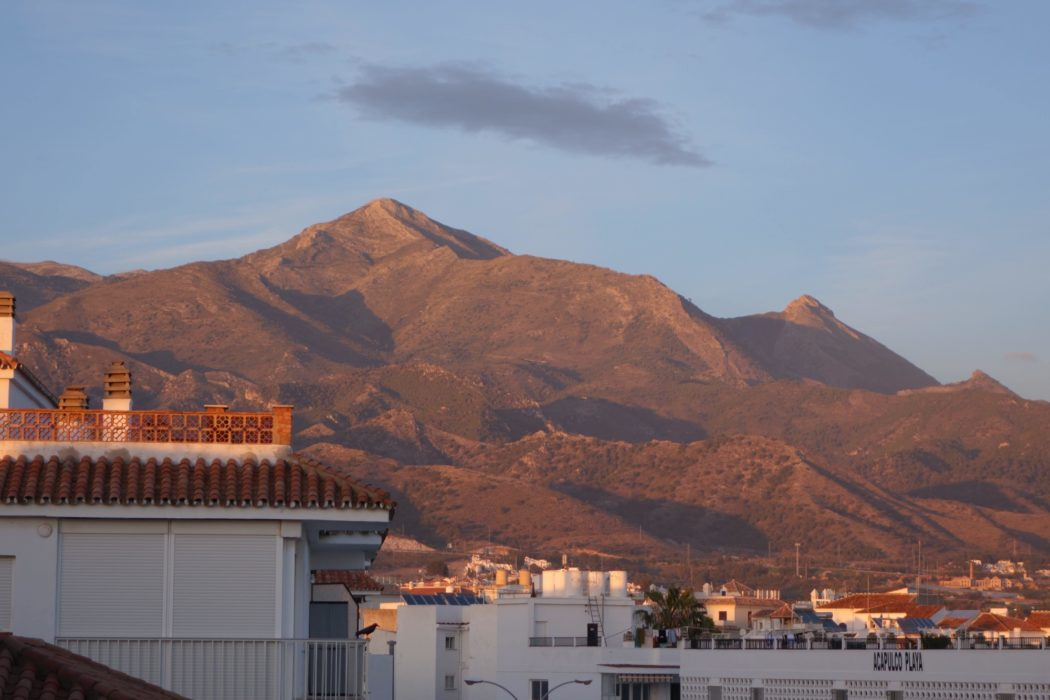 Evening Light On  El  Cielo 1508M