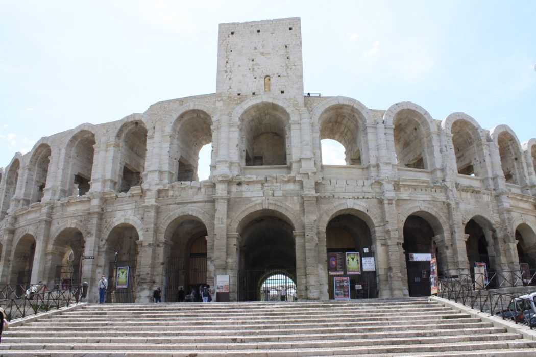 The  Roman Arena In  Arles