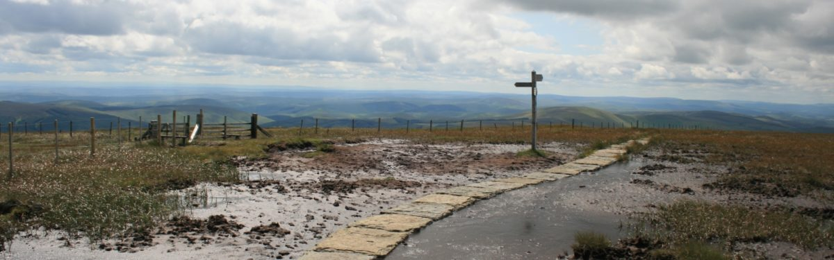 Taming the Pennine Way's notorious bogs: how a trail was