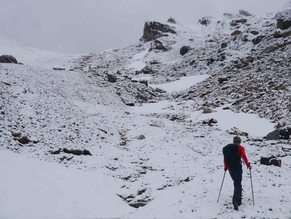 Classic Summer Trekking Weather In The  Alps