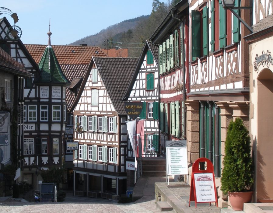 Schiltach On The  Kinzig Bicycle Trail