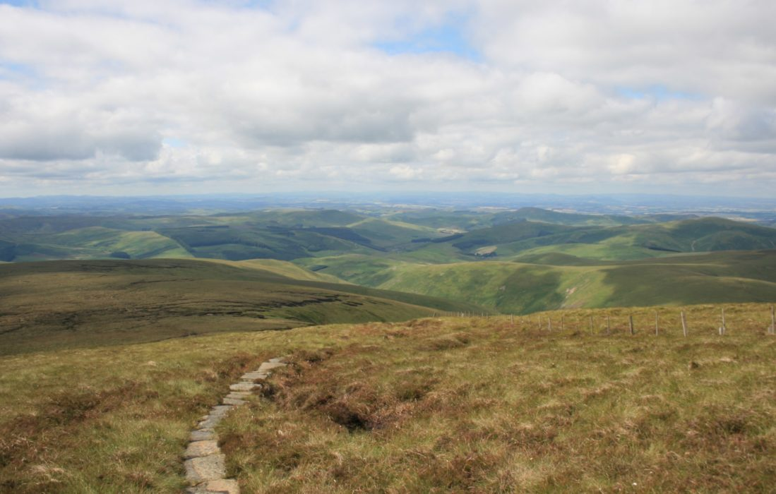 Last Miles Of The  Pennine  Way