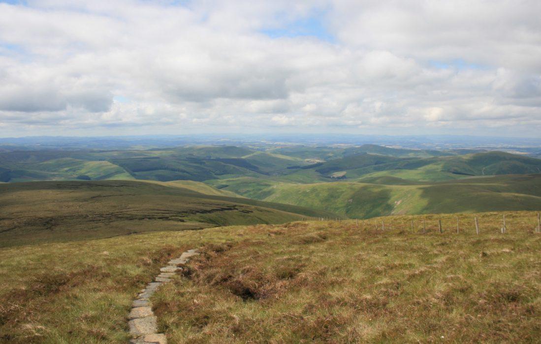 Last Miles Of The  Pennine  Way