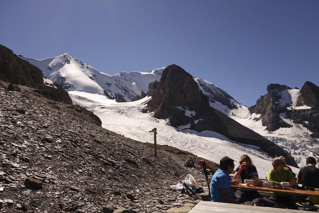 Bluemlisalp Above The  Hohtuerli Pass