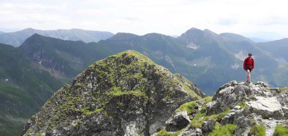 Mountain Running In  Romania