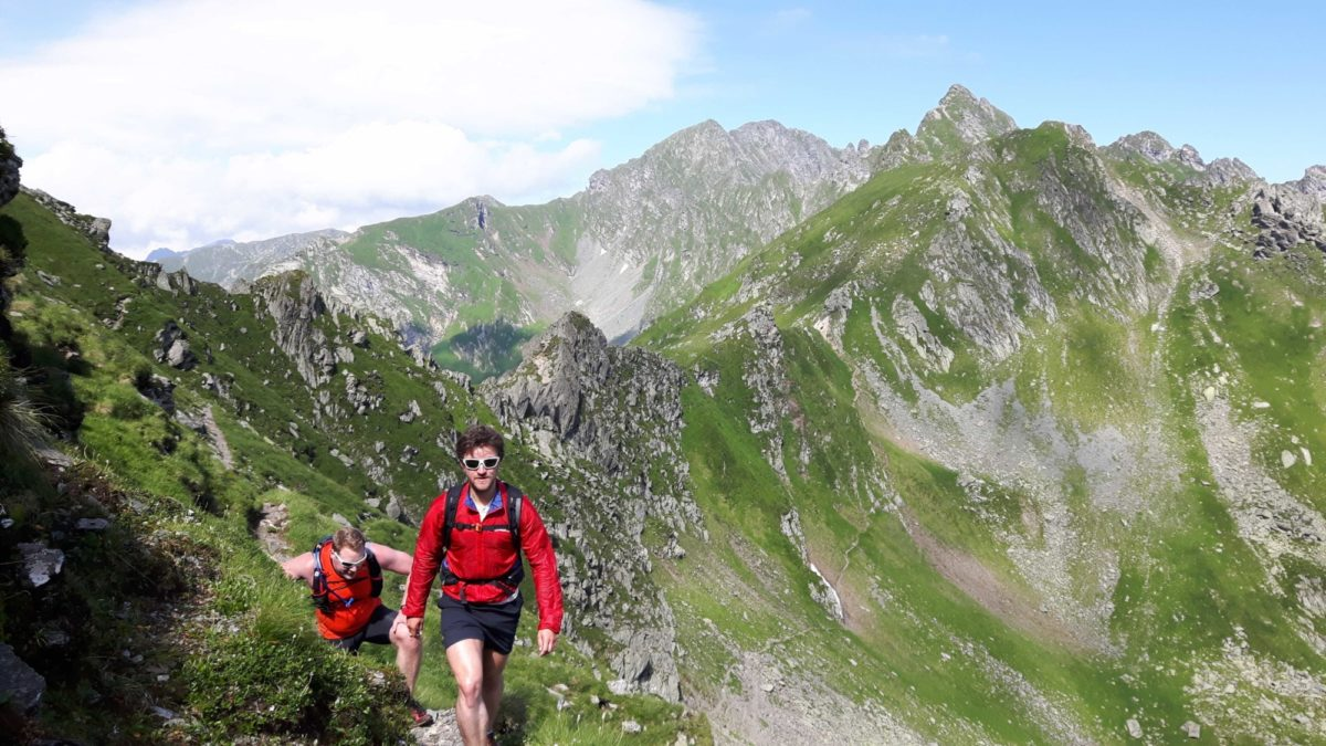 On The Main  Fagaras Ridge