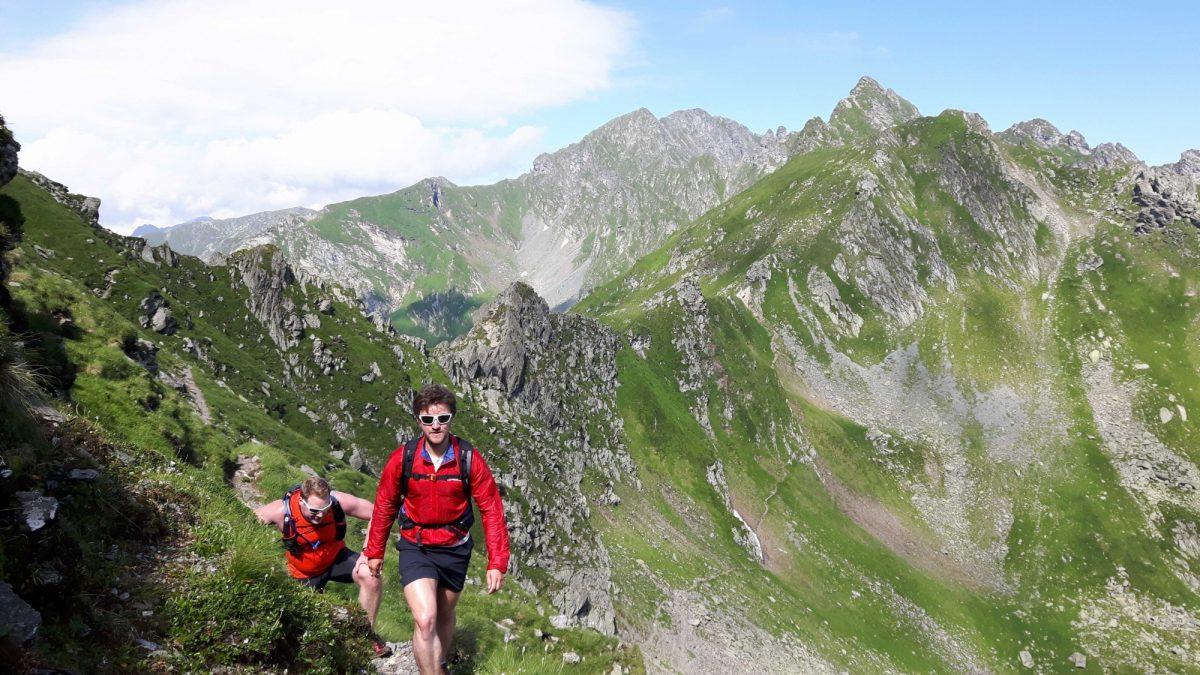 On The Main  Fagaras Ridge