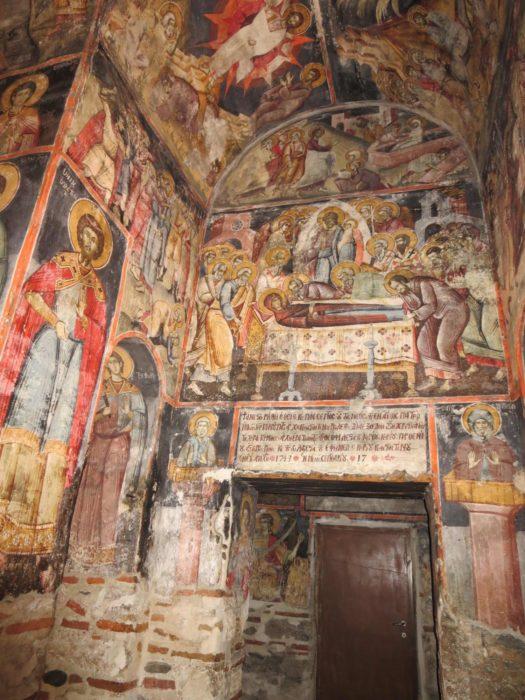 Byzantine Church  Aghios  Germanos Near  Lake  Prespa