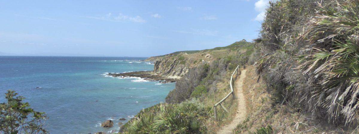 Coastal walking in Andalucia