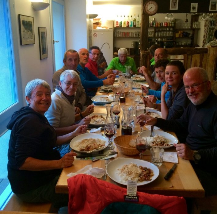 10  Meeting  People  Dinner At The Gite Detape In  Roya  Mercantour Copy