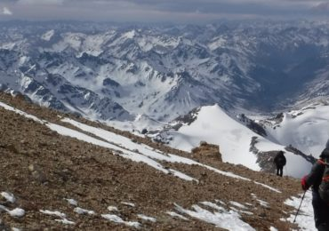 High on Aconcagua