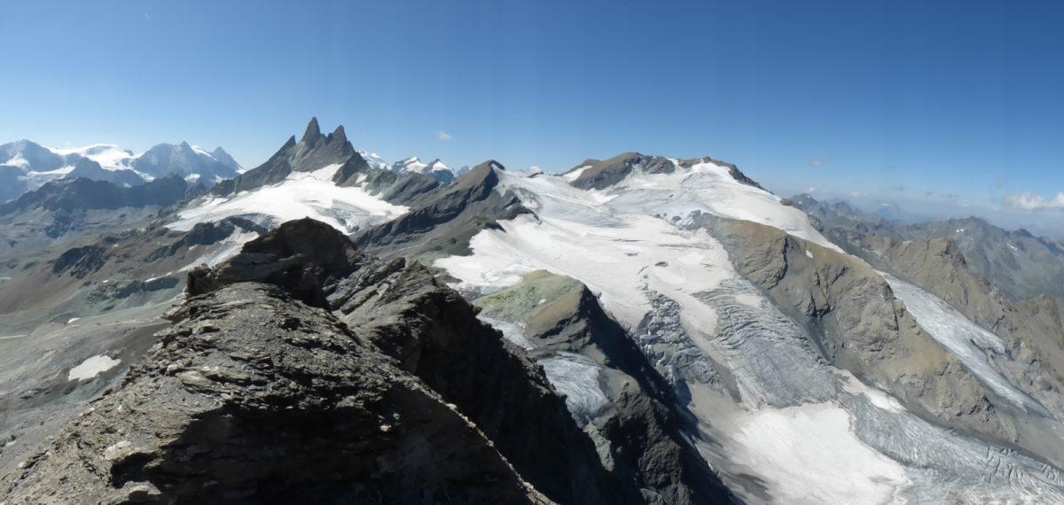 5 3  Aiguilles  Rouges And  Vouasson Glacier From  Mont De L Etoile