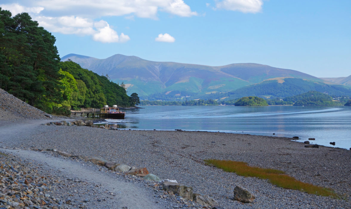 Derwentwater With  Skiddaw Behind