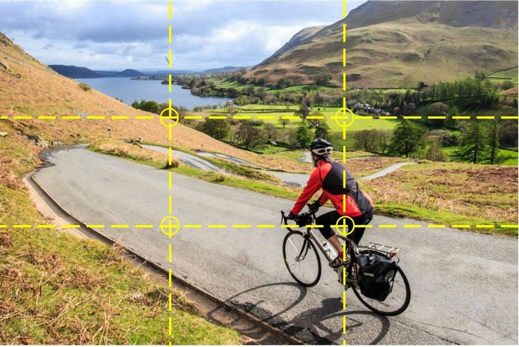 Outdoor photography - the rule of thirds
