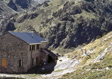 Climbing in the Pyrenees