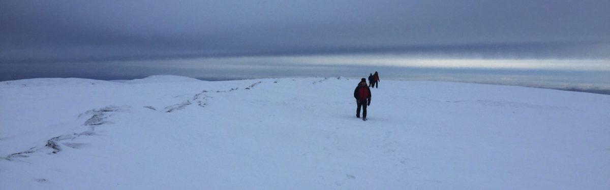 Helvellyn winter