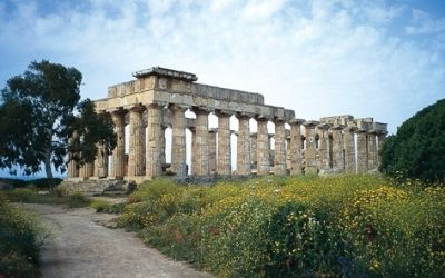 Temple at Selinunte, Sicily