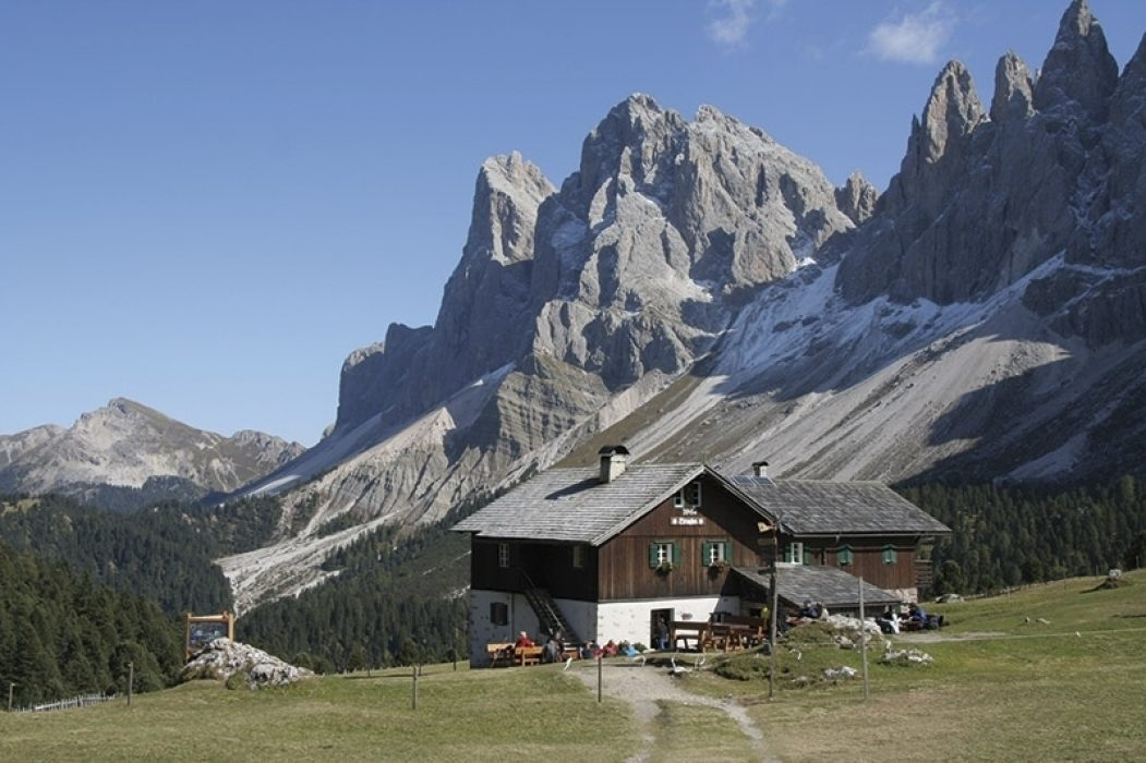The Odle and Rifugio Brodles, Dolomites