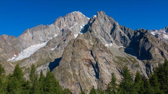 south face Mont Blanc