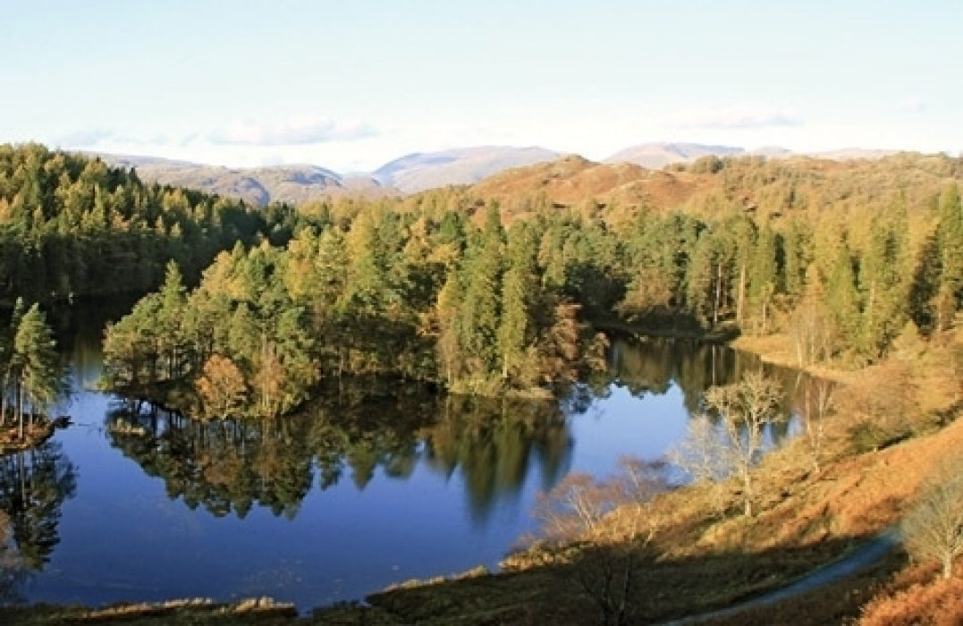The Cumbria Way passes some incredibly beautiful spots in the Lake District such as Tarn Hows