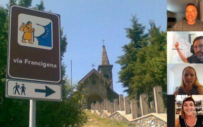 Walking the via Francigena