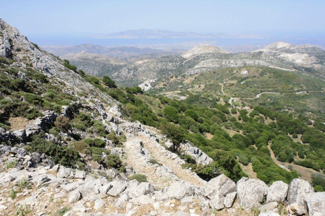 Naxos mountain