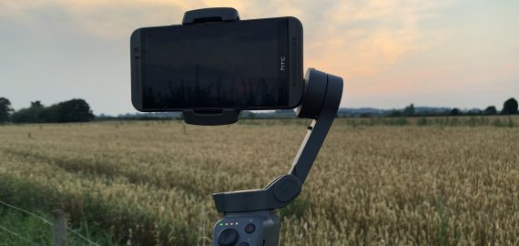 A gimbal will help to hold your phone steady