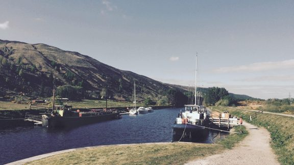 Look out for the 'Eagle', also known as 'The Inn on the Water' at South Laggan; the perfect place for a cold drink after a long day