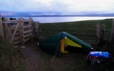 First solo wild camp between two gates