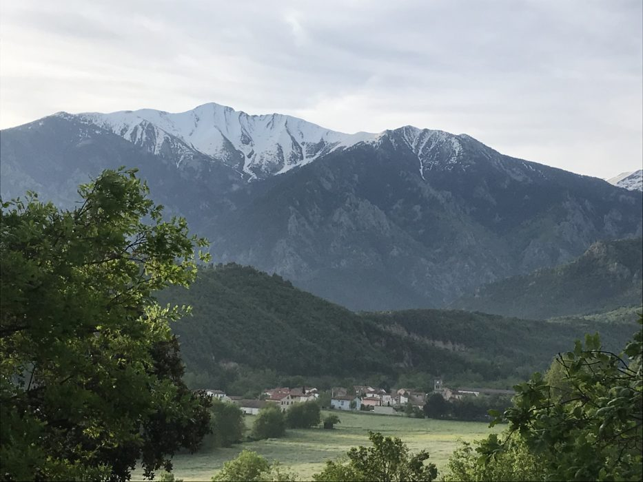 Fuilla, a village at the foothills of the French Pyrenees