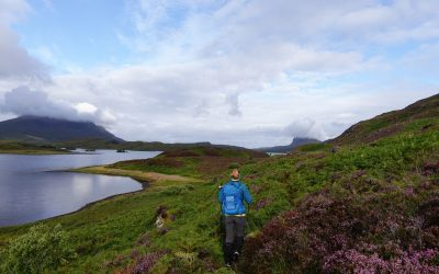 On the eastern approach to Suilven a long way to walk in