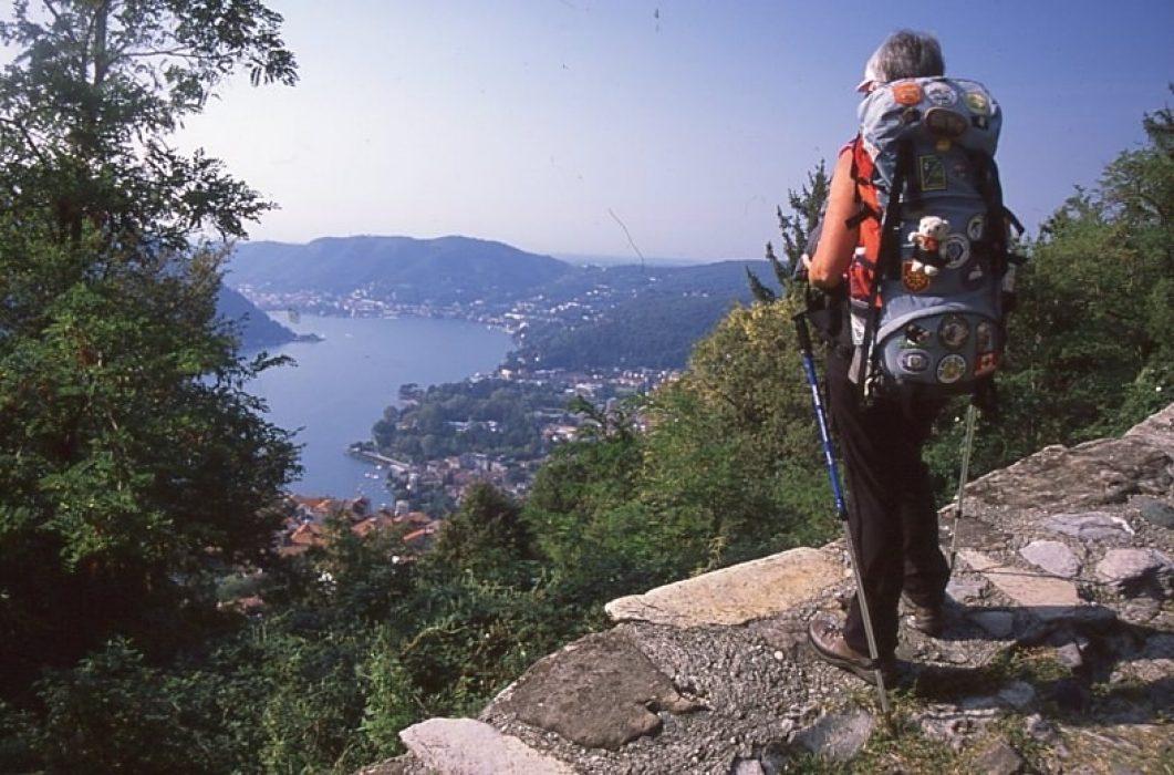 Overlooking Lake Como, Italy