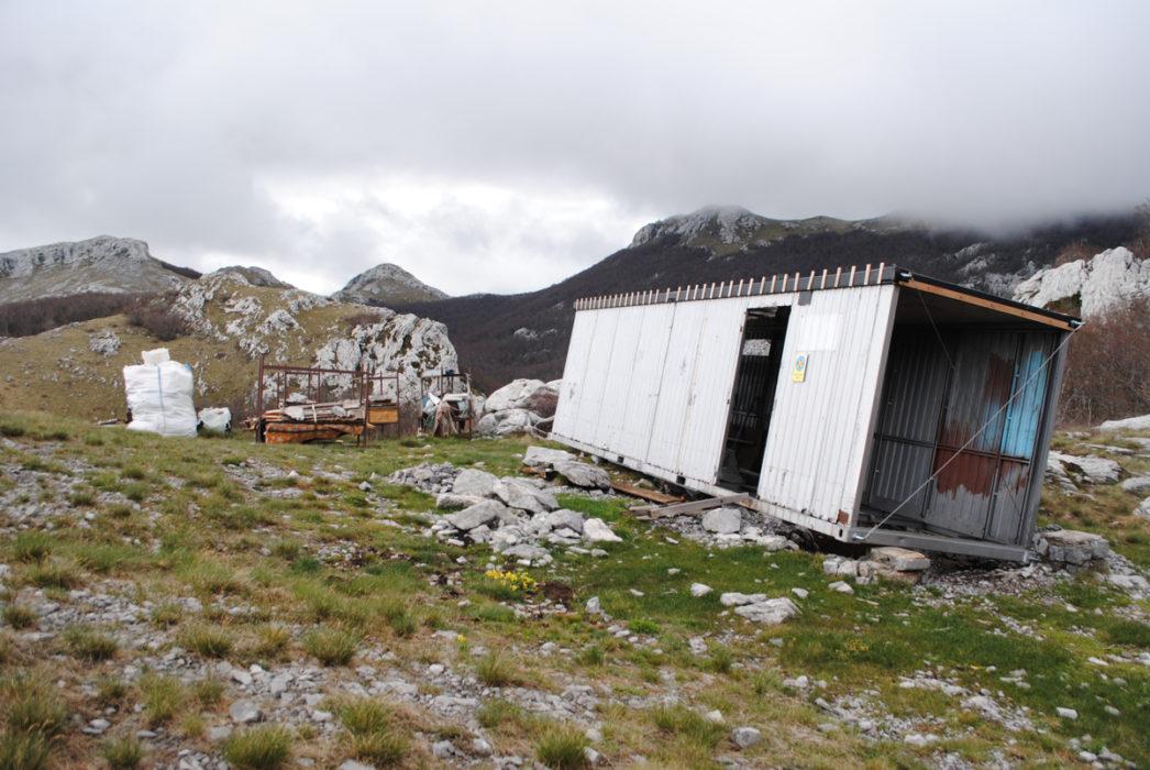 The Hut Of Sugarska Duliba As I Found It